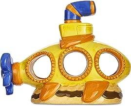 Imagitarium Yellow Submarine Aquatic Decor
