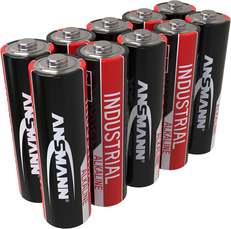 Ansmann Industrial Alkaline Batterie Mignon Aa Lr6 Elektronik
