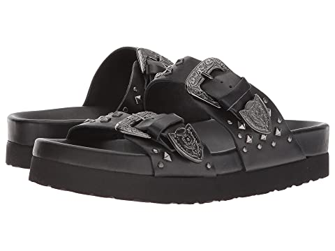The Kooples Leather Sandal with Studs