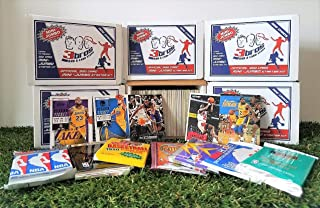 Limited Edition 300 card MINI-JUMBO lot of Basketball cards + 3 Vintage Unopened Wax Packs Starter Kit. Comes in Custom Souvenir Box- Great gift for the 1st time collectors! OVER 1,500 SOLD by 3bros