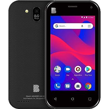 BLU Advance Desbloqueado Single Sim Smartphone, avanzado A4, Negro