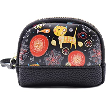 Coin Pouch Sweet Pastries Canvas Coin Purse Cellphone Card Bag With Handle And Zipper