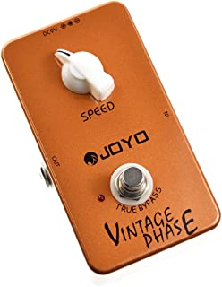 JOYO JF-06 Vintage Phase Effect Pedal Beautifully Re-Creates the Classic Phaser Sounds of..