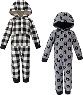 Yoga Sprout Girls Boys Unisex Baby Fleece Jumpsuits and Coveralls
