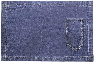 AZ COLLECTION Placemats Denim Blue (13X19 Inch)