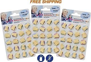 Multivitamins for Children - Chewing Bears - 3 Packs x 20 psc, Das gesunde PLUS/Germany