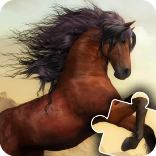 Horse and Pony jigsaw puzzles for kids & toddlers