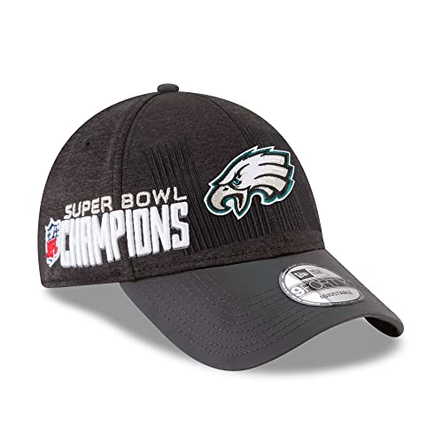 Philadelphia Eagles New Era Super Bowl LII 52 Champions Trophy Collection  Locker Room 9FORTY Adjustable Hat 18ed7a2a5