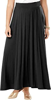Women's Plus Size Everyday Knit Maxi Skirt