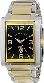 US Polo Assn. US9047 Montre Bracelet Homme Caoutchouc Noir