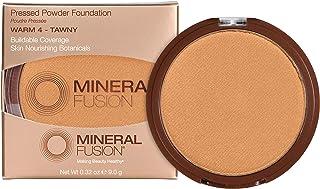 Mineral Fusion Pressed Powder Foundation, Warm 4, 0.32 Ounce