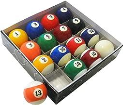 Hathaway Pool Table Regulation Billiard Ball Set