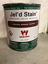 WOOD KOTE PRODUCTS INC 227-4 QT ROSEWOOD JEL FT. D STAIN 227-4
