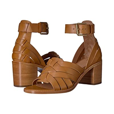 Frye Bianca Huarache Two-Piece (Tan) Women