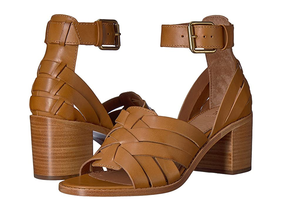 55280426ce654 Frye Bianca Huarache Two-Piece (Tan) Women s Sandals