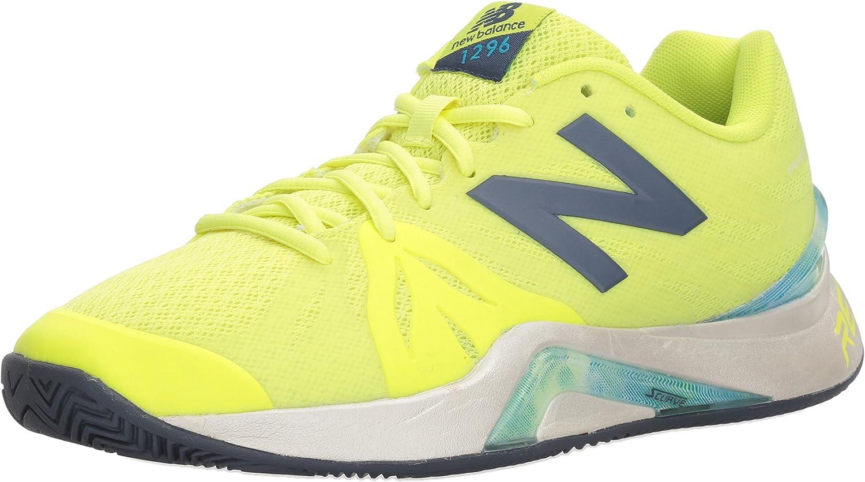 Amazon.com | New Balance Women's 1296 V2 Tennis Shoe | Tennis ...