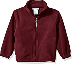 burgundy school jacket