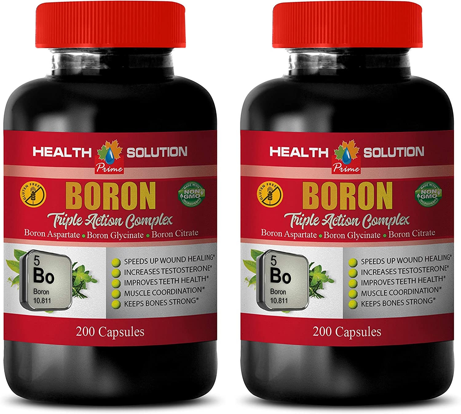 Bone and Joint Vitamins for Women - 2021 model Ranking TOP1 Complex Triple Boron Action
