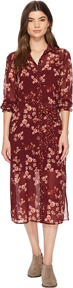 Lucky Brand - Mixed Print Emily Dress