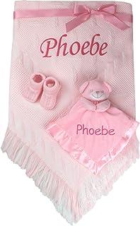 Prettyia Baby Nursery Crib Pram Bedding Soft Shawl Blanket Sleep Plush Toy