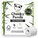 La Cheeky Panda 100% bambú inodoro rollo de papel Tissue ...