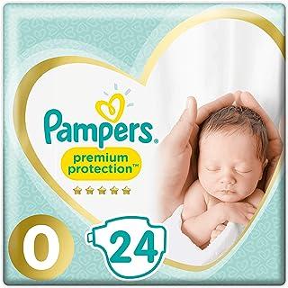 Pampers 81701245 pañal desechable Niño/niña Bebé prematuro 24 pieza(s) - Pañales desechables (Niño/niña, Bebé prematuro, Tape diaper, 3 kg, 364,8 g, 381,1 g)