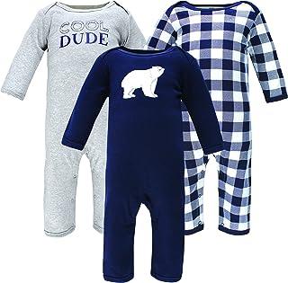 Hudson Baby Kombinezon dziecięcy Uniseks - niemowlęta Hudson Baby Unisex Baby Cotton Coveralls, Polar Bear