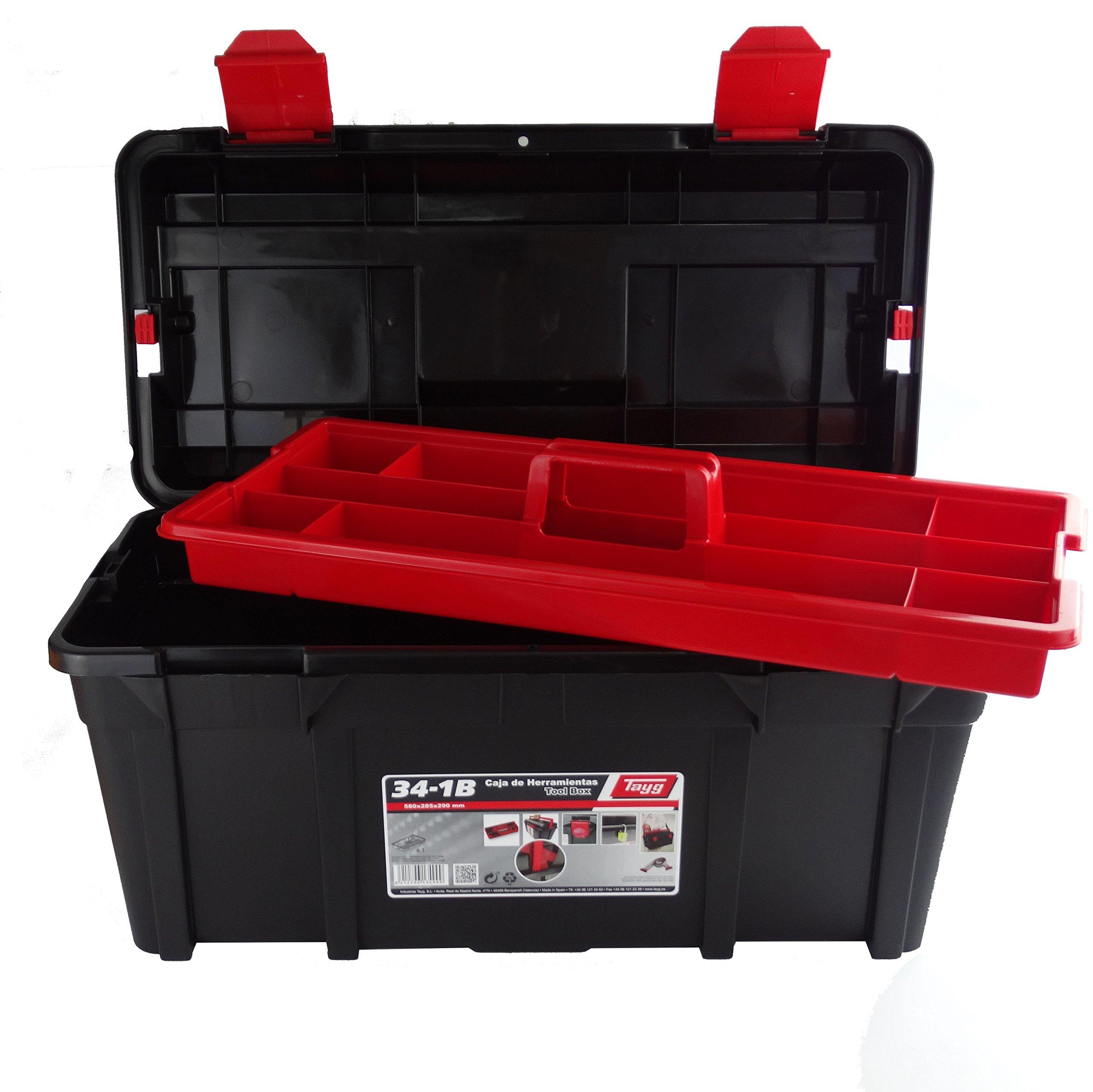 Tayg - Caja herramientas plástico nº 34-1B: Amazon.es: Industria, empresas y ciencia