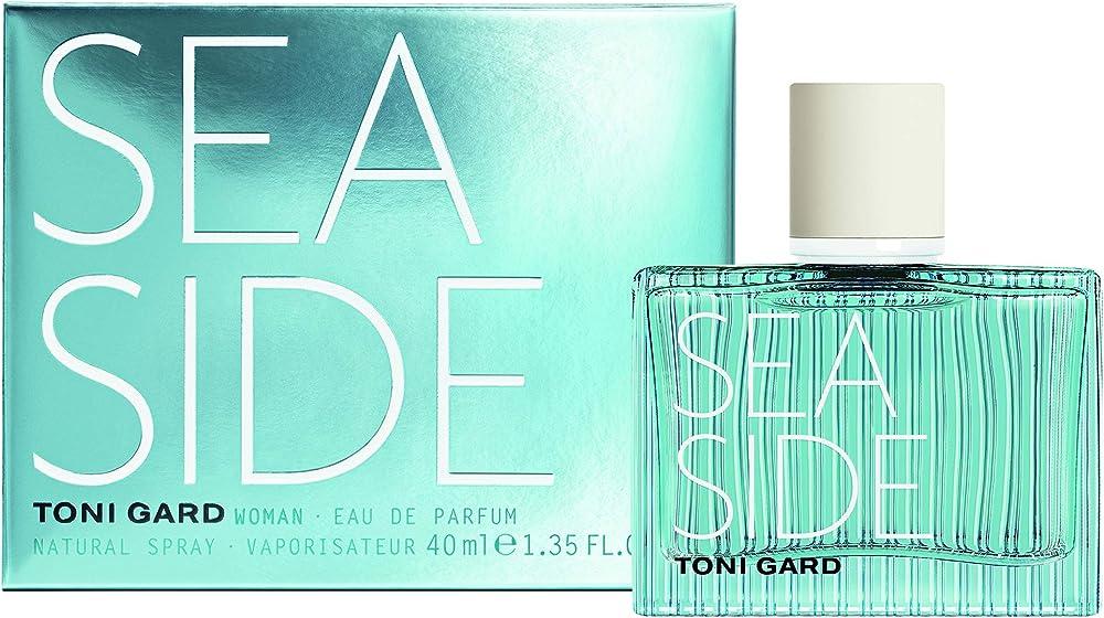 Toni gard sea side woman, eau de parfum,profumo per donna 40 ml 4260584031364
