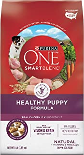 Purina ONE SmartBlend Healthy Puppy Formula Puppy Premium Dog Food 8 lb. Bag