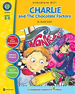 Charlie & The Chocolate Factory - Novel Study Guide Gr. 3-4 - Classroom Complete Press (Literature Kit Grades 3-4)