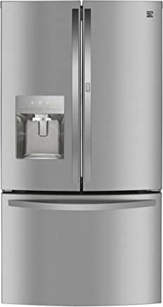 Kenmore 73115 French Door Smart Refrigerator, 27.7 cu. ft. in Stainless-Works