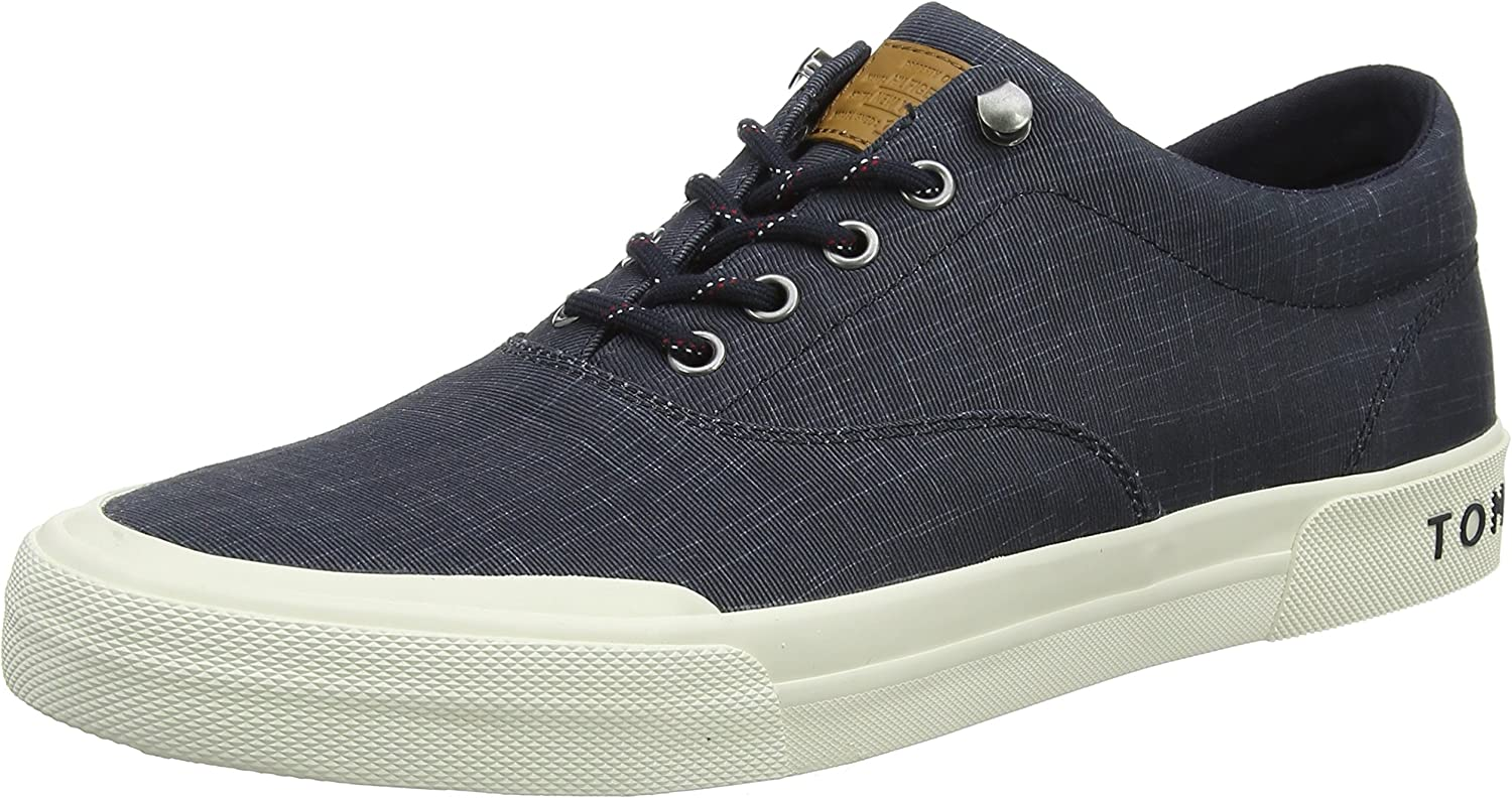 Tommy Tommy Tommy Hilfiger Herren Heritage Washed Canvas Lace Up Turnschuhe  f4a167