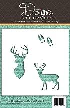 deer cookie stencil