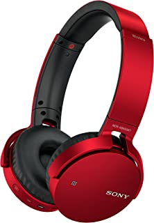 Sony Mdrxb650Btr.Ce7 Extra Bass Wireless Over Ear Headphones - Red