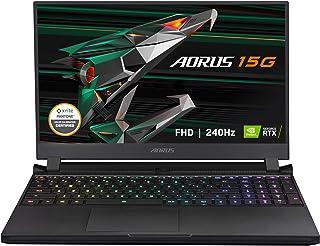 GIGABYTE(ギガバイト) AORUS 15G XC - 15.6インチ FHD IPS アンチグレア 240Hz - Intel Core i7-10870H - NVIDIA GeForce RTX 3070 8GB GDDR6 - 3...