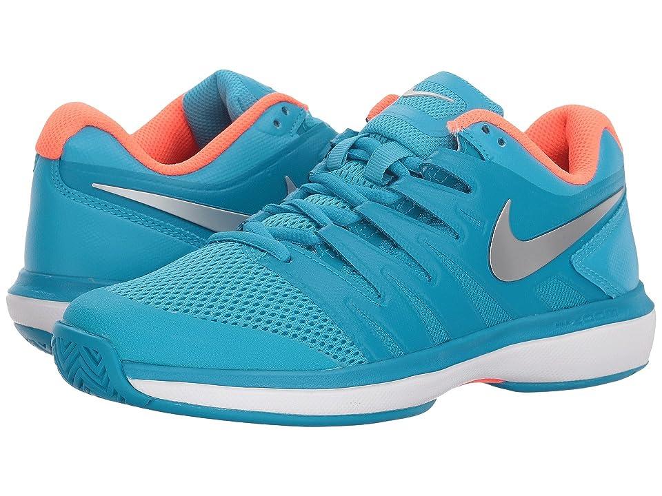 Nike Air Zoom Prestige (Light Blue Fury/Metallic Silver/Neo Turquoise) Women