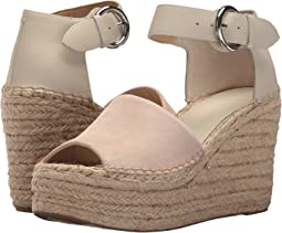 7186144f947 Marc Fisher LTD. Alida Espadrille Wedge.  74.99MSRP   150.00. Ivory Suede