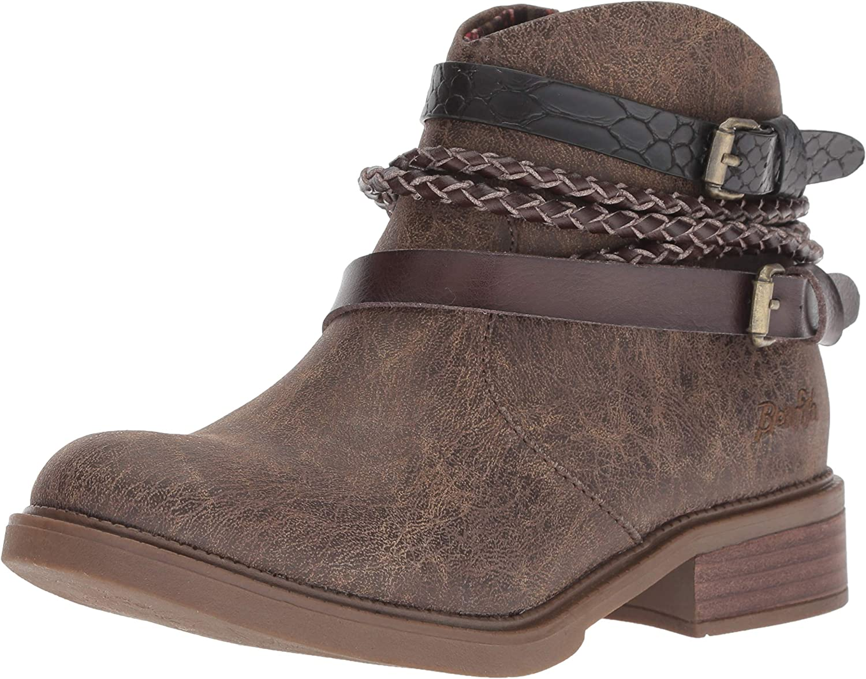 Blowfish Women's Vianna Fashion Boot, Chocolate Spindal Polyurethane, 6 Medium US