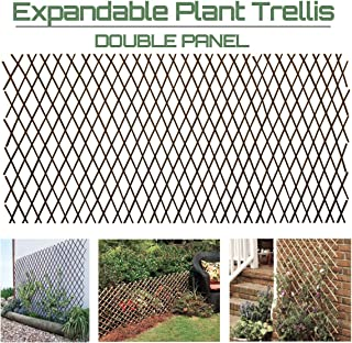 Garden Land Willow Expandable Plant Climbing Lattices Trellis Fence Support 36x92 Inch