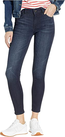 Florence Mid-Rise Ankle Dash Wash Skinny in Redmond