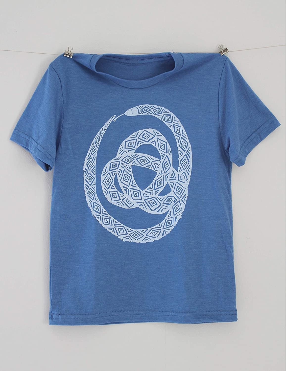 Ranking TOP15 Kids Tri-blend Snake T-shirt Unisex M Youth Sizing Handmade in Super sale