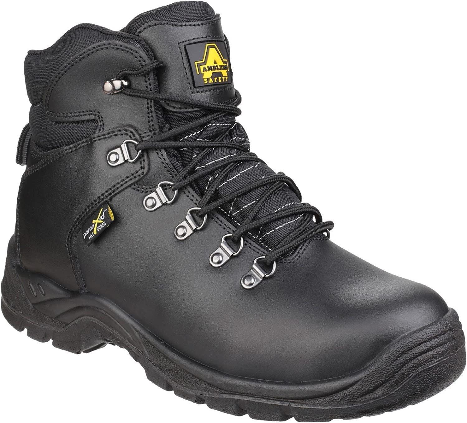 Amblers Safety Unisex As335 Pgoldn Internal Metatarsal Safety Work Boot Black 9