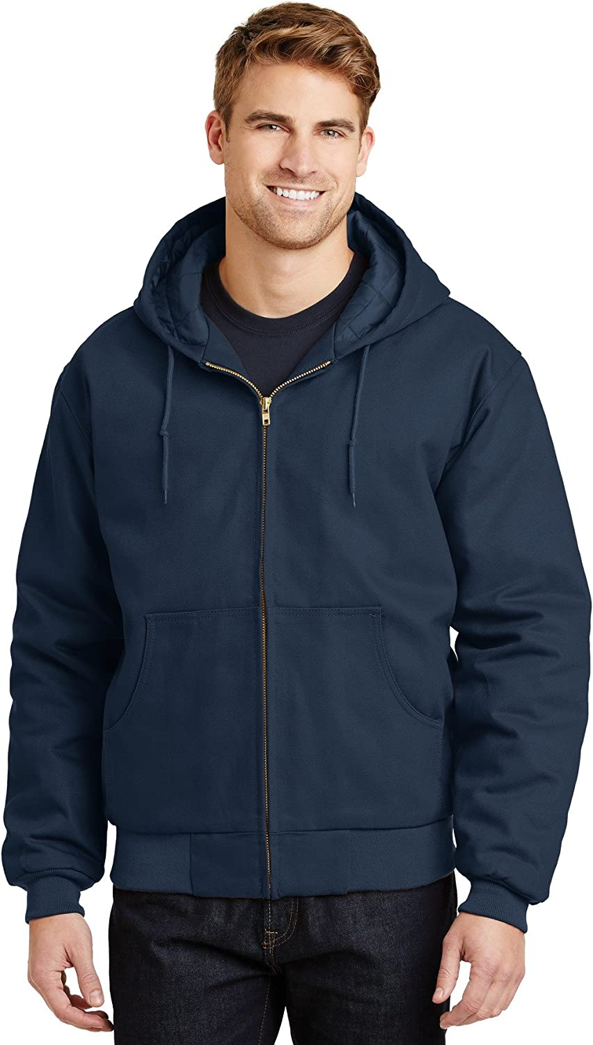 Cornerstone Sales results No. 1 Mens Duck Super special price Cloth Hooded Work Jacket