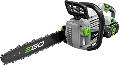 EGO Power+ 14-Inch 56-Volt Lithium-Ion Cordless Chain Saw - 2.0Ah Battery and Charger Kit