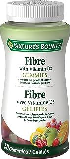 Nature's Bounty Fibre with Vitamin D3 Gummies, 50's