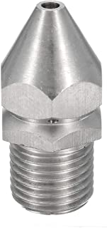 Other Accessory, Pressure Washer Drain Sewer Cleaning Jetter Nozzle 4 Jet 1/4 Inch Male