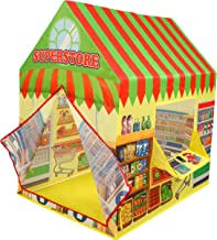 Kiddie Play Supermarket Playhouse Kids Play Tent for Boys & Girls Indoor Outdoor Toy