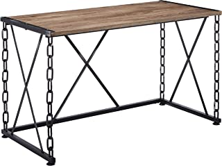 ACME Furniture Jodie Desk, Rustic Oak & Antique Black