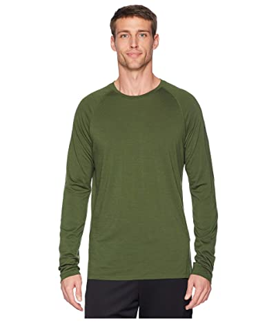 Smartwool Merino 150 Baselayer Pattern Long Sleeve (Chive) Men